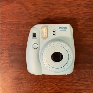 Instax Mini 8 Blue Polaroid Camera